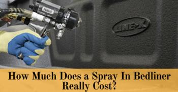 spray in bedliner cost