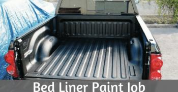 bed liner paint job