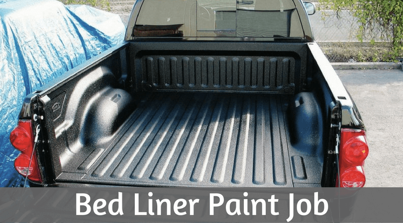 bed liner paint job