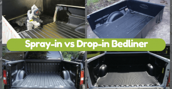 Spray in vs Drop in Bedliner