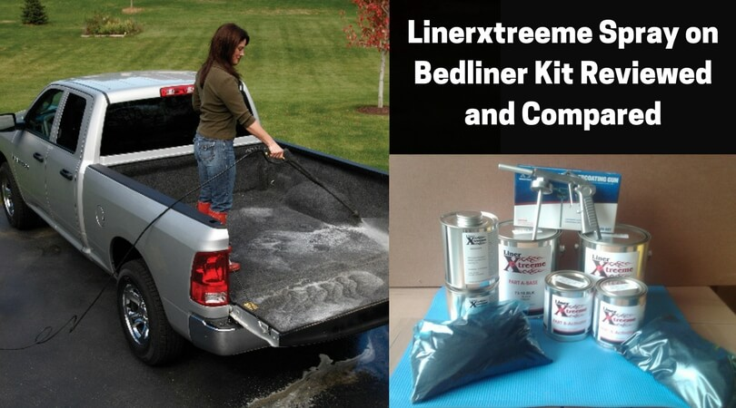 Linerxtreeme Spray on Bedliner Kit