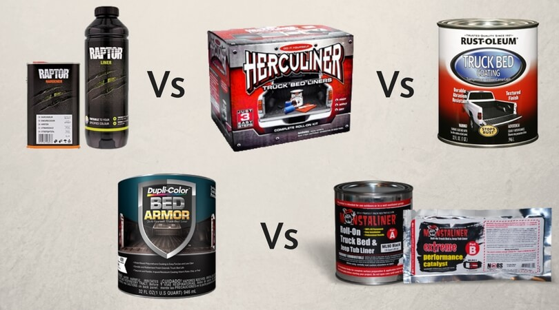 Raptor Liner Vs Herculiner Vs Rustoleum Vs Duplicolor Vs Monstaliner