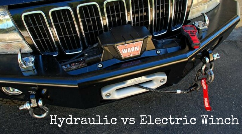 Hydraulic vs Electric Winch: Compare Both Winch Before You