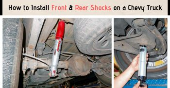 How to Install Front & Rear Shocks on a Chevy Truck