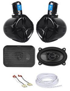 Jeep Wrangler Soundbar Rollbar+Front Speaker Kit