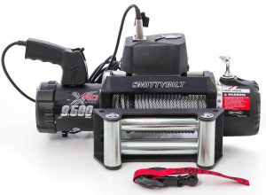 Smittybilt 97495 9500Lbs XRC Winch for Car Trailers