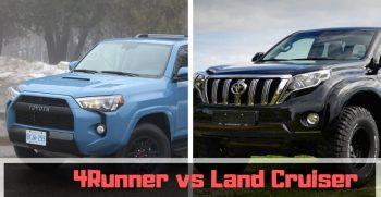 4Runner vs Land Cruiser