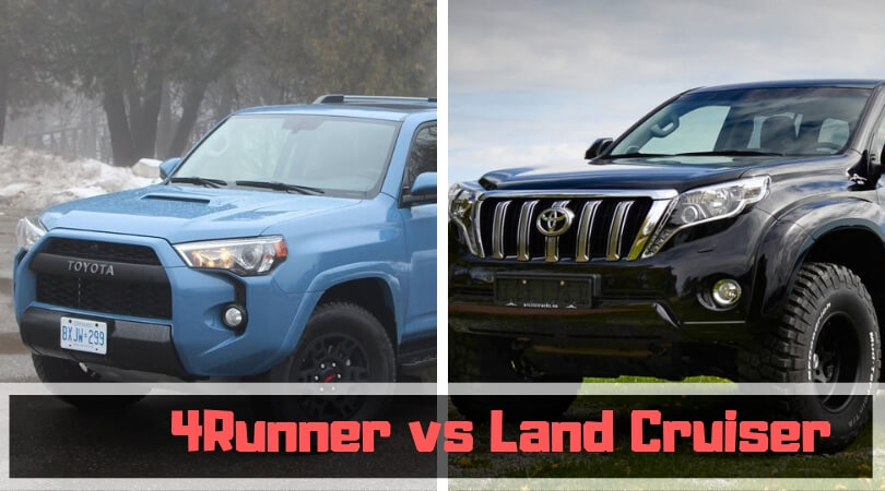 4Runner vs Land Cruiser