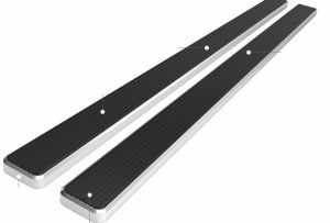"APS iBoard Running Boards 6"" Custom Fit 2007-19 Toyota Tundra"