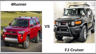 toyota fj cruiser vs 4runner