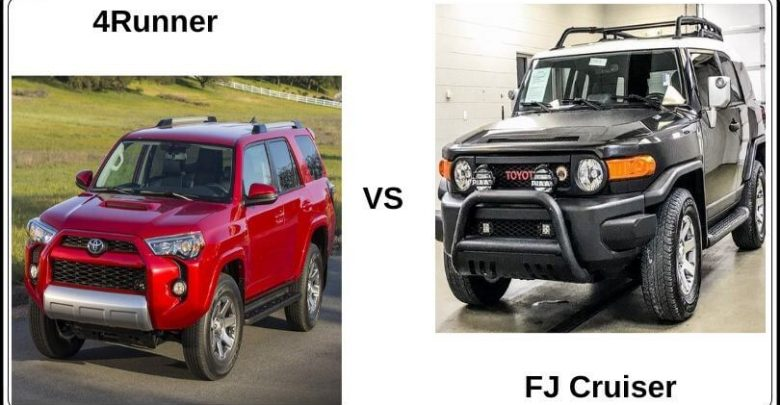 toyota fj cruiser vs 4runner