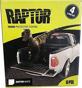 U-Pol Products Raptor White NR 4L