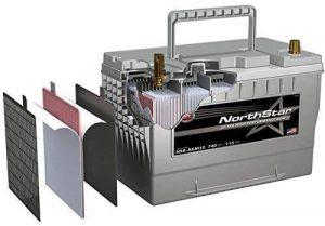 NorthStar Semi Truck Battery