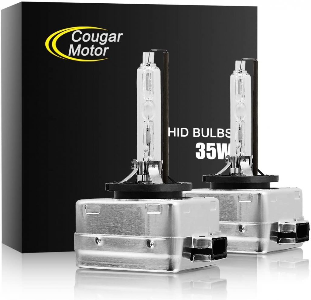 CougarMotor HID Xenon Headlight Replacement Bulbs - D1S