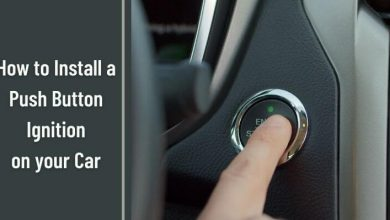 How to install a push button ignition on your car (1)