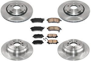 Ft & Rr Brake Rotors and Pads